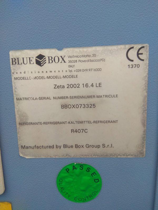 Компрессорно-конденсаторный блок (ККБ) Blue BOX ZETTA 2002 16,4 LE - фото 5
