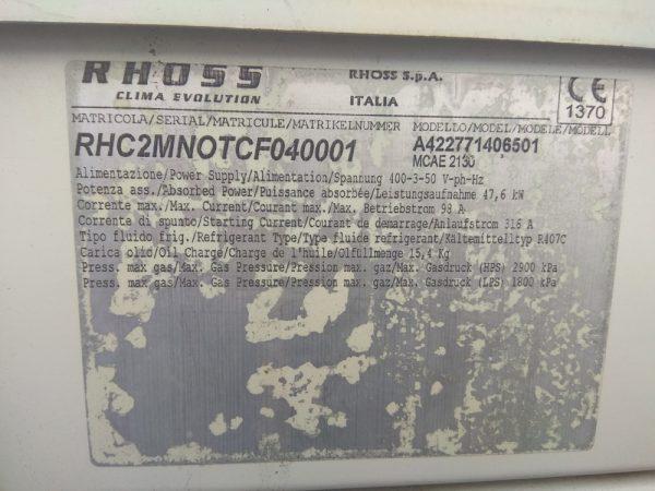 Б/У компрессорно-конденсаторный блок (ККБ) RHOSS MCAE 2130 - фото 4