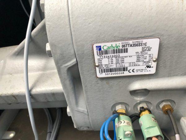 Б/У холодильный компрессор carlyle 06TTA356 - фото 3