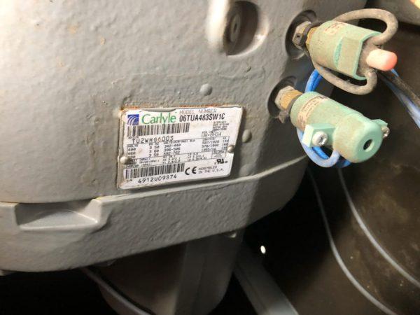 Б/У холодильный компрессор carlyle 06TUA483 - фото 2