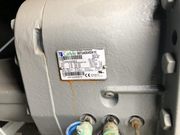 Б/У холодильный компрессор carlyle 06TUA554 - фото 3