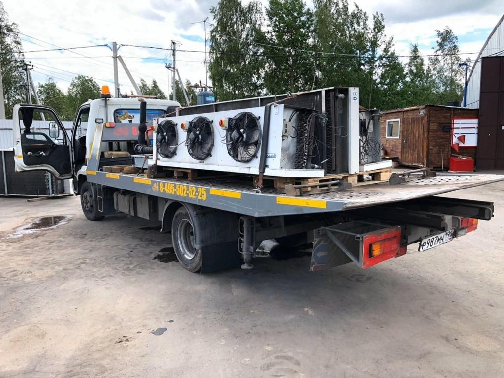 Аренда холодильных агрегатов, чиллеров и оборудования в Москве