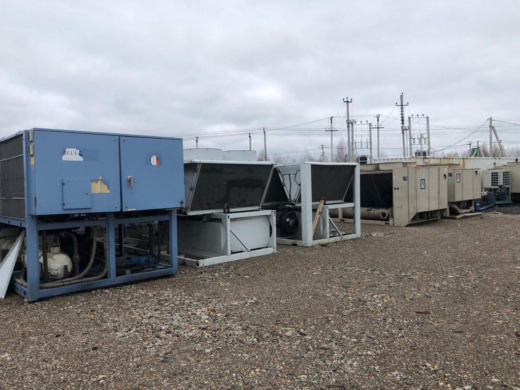 БУ чиллеры и холодильные агрегаты (фото 5)